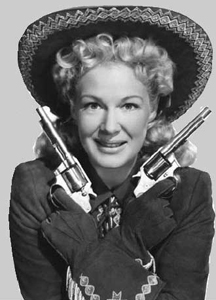 Better hope you get a singing Betty Hutton.