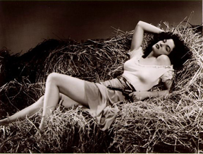 Hurrell photo of Jane Russell