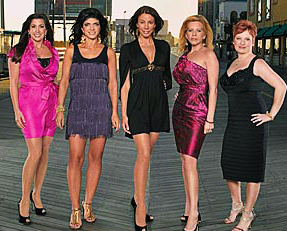 The Real Housewives of New Jersey...now this is going to be torture.