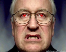 Cheney can take Kim and Mamoud hunting. Say goodbye Gracie.