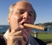 Rush enjoys a good Oxycontin smoke.