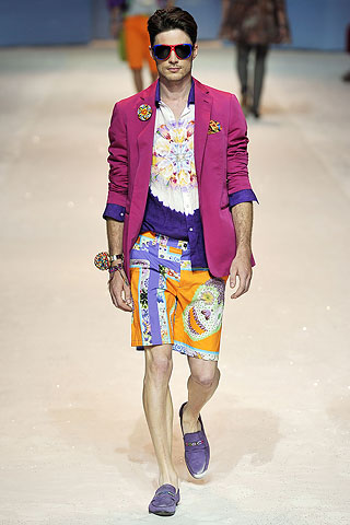 Manzie and the Amazing Technicolor Dreamcoat from Etro.