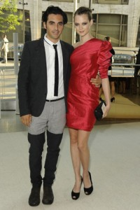 Yigal Azrul, there are all sorts of wrong going on here. Did you wear this get up to attract press? It worked. Fotz.