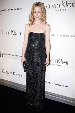 Melissa George. Don't tell anyone I said this, but you are OVERDRESSED!