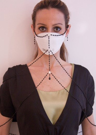 A Vogue staffer has swine flu. What the fashionista wil wear this flu season.