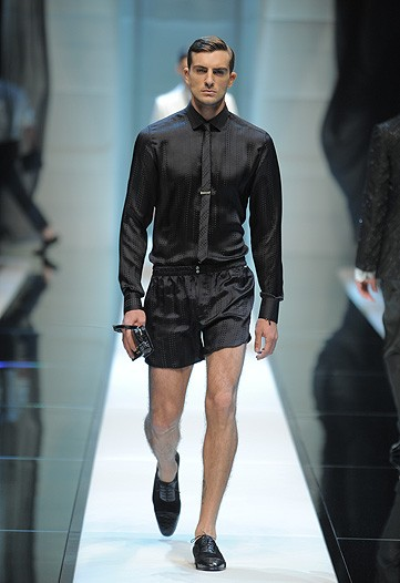 Ok, you tell me where this Manzie would wear this Dolce and Cabbana short set to? Huh?