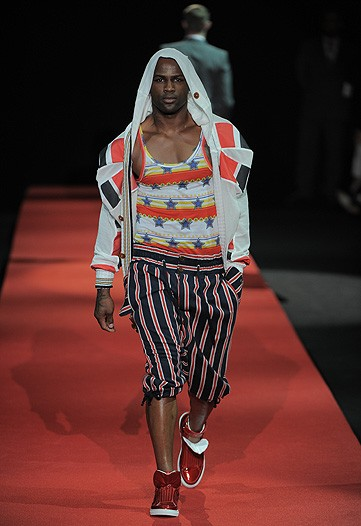 Vivienn Westwood even has that special outfit for the blind Manzie.