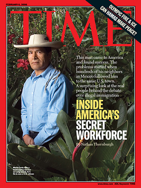 Mexican Gardeners of Celebrities are actually more famous than the Celebrty Gardenerl. I mean...the cover of Time...hello.