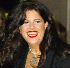 The once notorious Monica Lewinsky.