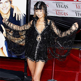 Bai Ling...nut bag...should just give it up. Styilsit or no stylist is not going to help her get a meaningful career.