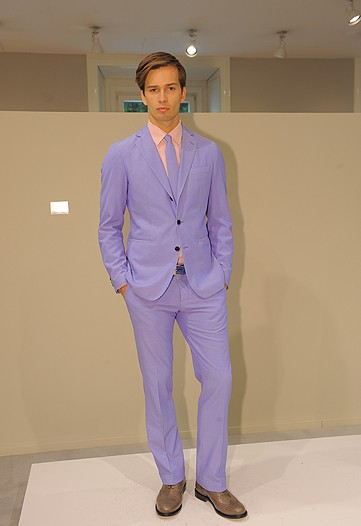 This Ballantyne look is well tailored, but when worn in the streets, you will surely get your ass kicked.