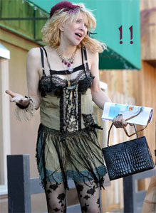 Oy veu iz meer. May the stylist Gods shine their light on Courtney Love.
