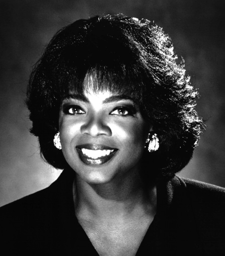 THough sh is beyond famous, but look at this old hed shot of Oprah. Nice lighting.