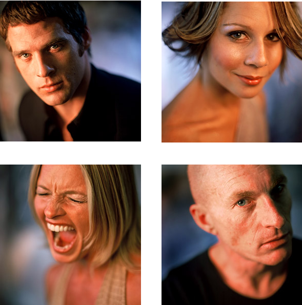 This is the cast of that really popular TV show, Farscape.