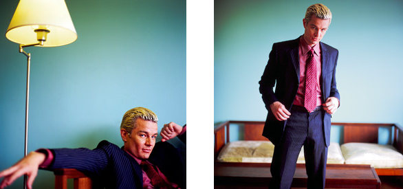 This is James Marsters, you might recognie him from ye oldde Buffy the Vampire Slayer days. Look at what he is up to these days (see below)