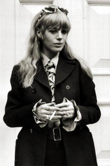 Marianne Faithfull was right up there with Grace and Co.