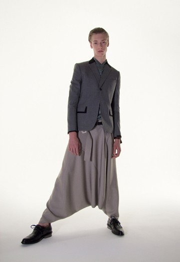 What about this Balenciaga maxi-skort or whatever it is. Butch? I think not.