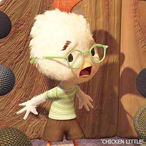 That's right Chicken Little...shut up or die.