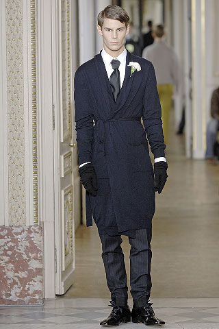 Admit it, you would love to go to work in your robe. Lanvin provides that option to those unlike me who work from a home office where my kimono is my daily wardrobe.