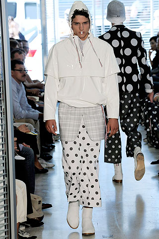 Now, you tell me. Does Thom Browne spend time in Japan....ugh...yeah.