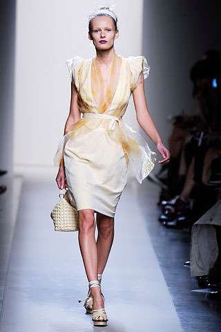 Overall, the Bottega Veneta colletion was relaxed and chic. Two snaps up Thoomas Meier.