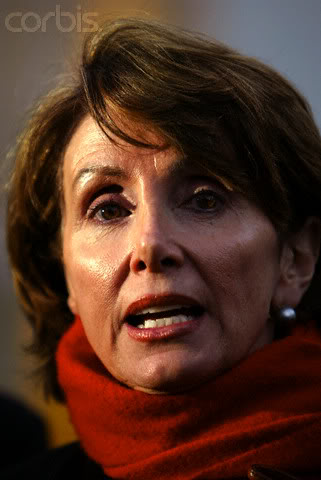 With all the talking Nancy Pelosi does...she needs the cheeks plenty.