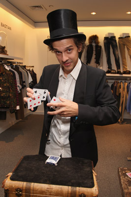 "Here we have Mario the Magician performing at Sak's Fifth Avenue...in NYC...really on Fifth Avenue...for this ""Signature Style Event"" hosted by GQ. Now...just to be clear...this is not a kiddie event. So Mario is the new signature style of menswear? Am I missing something here? Am I the clueless one. Please...I'm asking. I can take it."