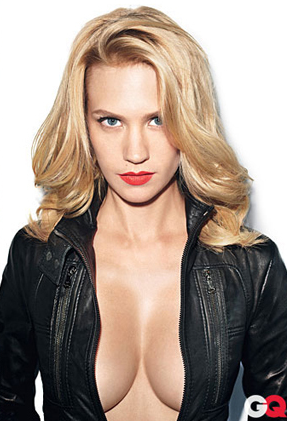 This January Jones GQ cover shot is gratuitous at best. And for GQ to be modeling itself after Maxim...well...bye.