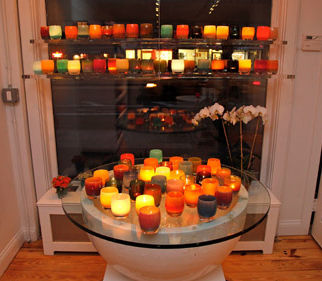Candles were the most famous attendees that night.