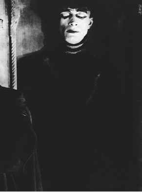 One year I went as the Somnambulist from The Cabinet of Dr. Caligari.