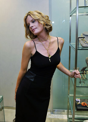 Michelle Stafford of....um....um...whatever....posing here for sexy animal crackers.