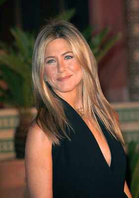 Yes, Jennifer Aniston looks great...thanks to the cheeks.