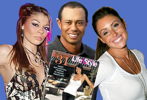 Tiger Woods and his Stream of Dancing Hos.