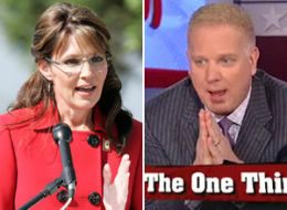 This image was from a prior I Mean...What?!? when Sarah Palin asked he Facebook fans to watch Glenn beck. Politics mke strange bedfellows. But, hey, the season is young for both of them...they may very well be bedfellows in the future...anything to get elected.