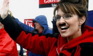 Sarah Palin could not let the election go by with out a sad attempt for press.