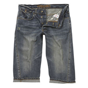 Denim is always great. I prefer cut offs, and definitley not too short as the shorter you cut them, the nellier you look.