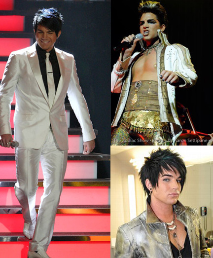 Adam Lambert is fantastic...yes...but a manzie, plenty.