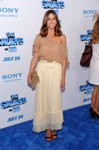 Olivia Palermo is extremely lovely, however, this ensemble is unflattering. Period.