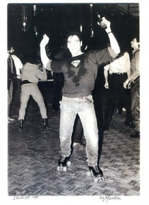 That's me at Studio 54 circa 1978 on roller skates... stoned.
