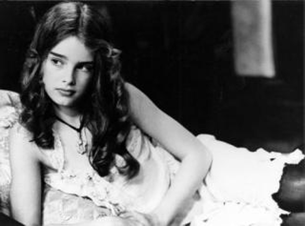 Share your Brooke shields nude pretty baby bath