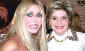 Gloria Allred and pal.