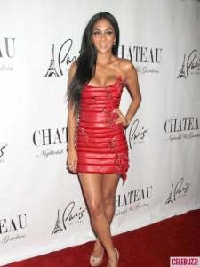 Nicole Scherzinger, please purchase a gay to replace your pimp.