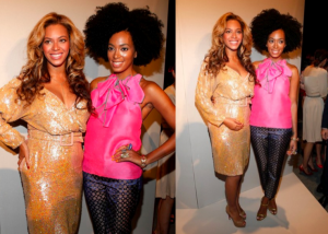 Why on Earth did Beyonce go to this presentation? Solange, I get. But Beyonce?