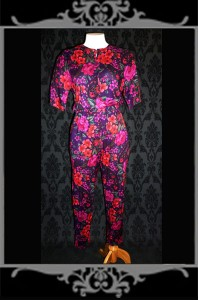 And we need a redux of bad 80's floral jumpsuits, like I am going to the moon.