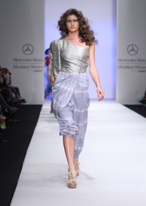 The Mercedes Benz logo is the new Good Housekeeping Seal of Approval for the fashion industry.