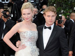 Kirsten and Brady at the Cannes Film Festival.