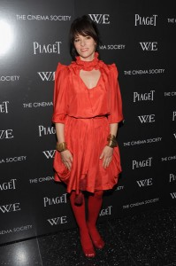 Lady in red I adore you. Well, maybe not. Parker Posey explodes in red.