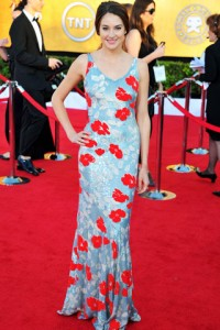 Shailene Woodley took a risk with this dress, but I'm not sure it paid off.