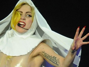 Lady Gaga and James Franco will potentially have blood on thier hands. due to thier celebrity headphones.