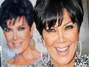 This is the happy face of Kris Jenner after some Zesta afternoon delight.